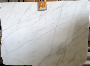 White Carrara Honed Finish